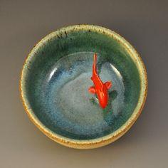 Koi Tea Bowl