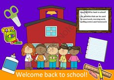 Word Work Back to School Giveaway! Enter for your chance to win 1 of 3.  Back to School - 10 words packet - 20 activities of word work - 38 pages (38 pages) from SpellingPackets com on TeachersNotebook.com (Ends on on 8-24-2014)  Back to school word work packet with 10 words. Three lucky shoppers will win this 38 page packet of word work next Sunday.  Become a shop follower to receive updates on all our giveaways.