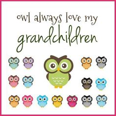 grandpar, grandchildren, owls