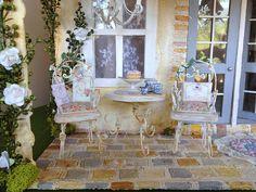 Summertime on Rosie's Porch by Torisaur, via Flickr