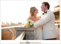 Bennett and Marshall's wedding at Keeneland.