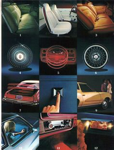 1977 Chevrolet Monte Carlo Options