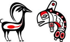 Inuit art coloring pages