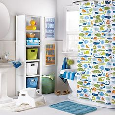 This would be a cute bathroom!