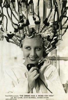 Vintage hair dryer