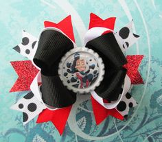 Cruella de Vil hair clip disney villain headband by JaybeePepper