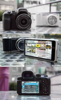 The Samsung NX30 and Galaxy Camera 2.