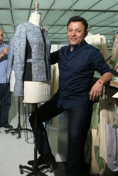"""I have a passion for fashion — and fashion is compassion,"" said Elie Tahari of his key to success. [Photo by Thomas Iannaccone]"