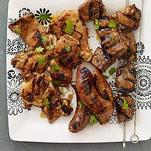 Grill with Apricot-Soy Sauce weight watchers, food, sauc, chicken ...