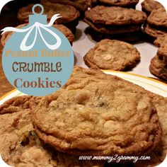 The Great Food Blogger Cookie Swap: Peanut Butter Crumble Cookies