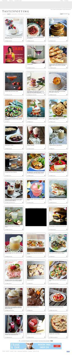 #website #food #design