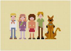 Cross Stitch Pop Culture