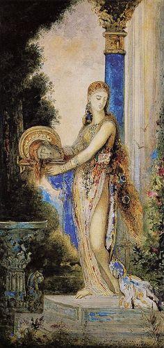 Salome Dance, Gustave Moreau