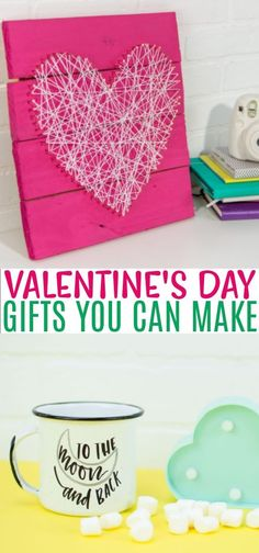 If you are looking for a unique DIY gift, you're in the right place. We've rounded up these amazing DIY Valentine's Day gifts you can make that we are sure you're going to love. What could be sweeter than that? #valentines #valentinesday #valentinesdaycrafts #valentinesdaygifts