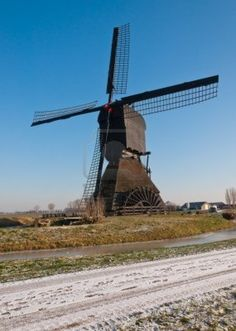 water wheel mills in holland - Google Search