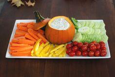 Fall Veggie Platter + Dill Dip Recipe