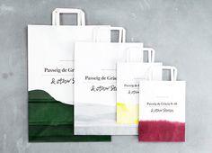 & other stories bags. #branding #dip-dye #design.