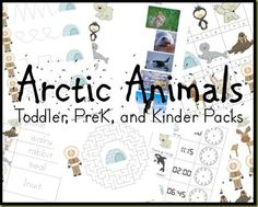 Arctic Animal Packs (free printables) from Royal Baloo