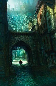 Medieval city.
