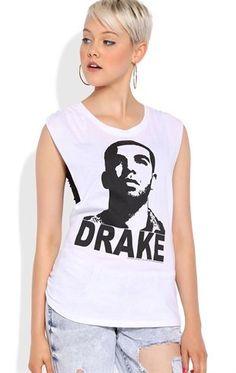 Deb Shops Twist back tunic tank with Drake screen $14.25