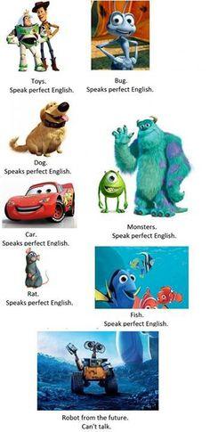 Pixar...