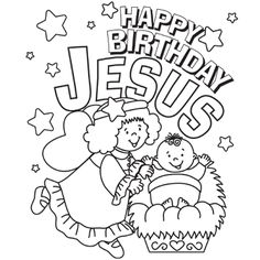 sunday school, birthday jesus, christmas recipes, christma color, christmas coloring pages
