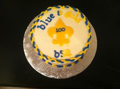 Cub Scout cake for the Centennial celebration