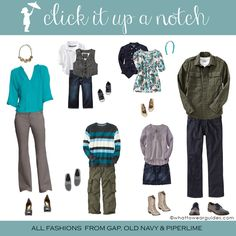 What to Wear in Family Photos - October 2013