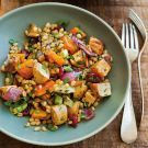 Try the Wheat Berries with Roasted Parsnips, Butternut Squash and Dried Cranberries Recipe on williams-sonoma.com