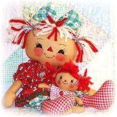 Cloth Doll Pattern PDF Rag Doll Pattern Sewing by OhSewDollin, $9.00