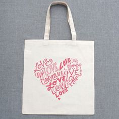 $10 Heart of Love Tote