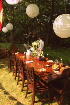 Woodland Garden Party