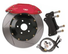 2005-2010 Toyota Tacoma TRD Big Brake Kit Faster cars and trucks need added stopping power. These comprehensive Big Brake Kits are designed to enhance your braking system quickly and easily, delivering shorter stops, increased fade resistance and improved pedal feel. Truck
