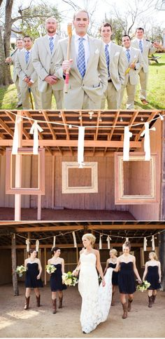 cute country wedding