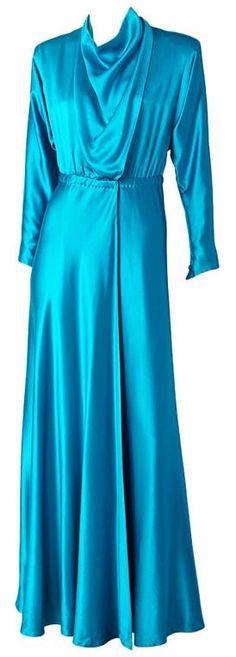 Dress, Halston, 1970s