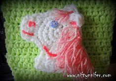 Horse Head Motif ~ free pattern ᛡ