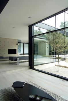 *architecture, design, modern interiors, windows, living space* - Belvedere modern house by Guido costantino Design Office