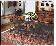 Colonial American Tavern Table