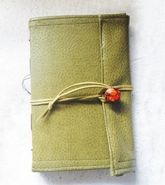Handmade fabric checkered journal Interior end by UselessPaper, $27.00