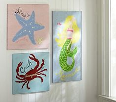 Summer Surf Plaques #PotteryBarnKids