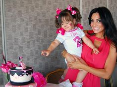 Courtney Mazza and Gia Celebrate – Together! – Moms & Babies – Moms & Babies - People.com