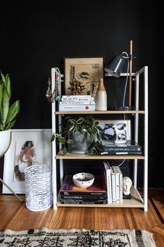 One Bookcase, Three Ways   Oh Happy Day!