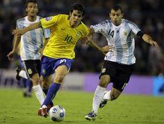 Brazil vs. Argentina - futbol