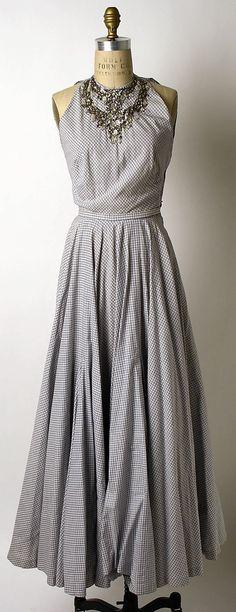 Evening dress, Mainbocher