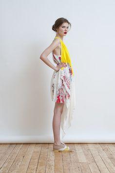 Christine Phung - Light Diffraction - look 11, photography Barbara Bouyne, Model Jay Nova@Evidence Model Management