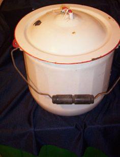 """The Pot"" aka toilet at GramMa's house."