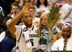 The friendship between Michigan State basketball star Adreian Payne and 8-year-old Lacey Holsworth is one of those stories.