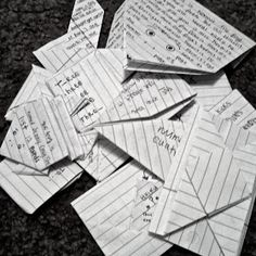 Lots of Lists: 8 Fun Ways to Fold Notes or Letters!