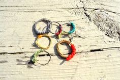 Recycled guitar string rings ($8 plus shipping)! Let us know if you would like one to be custom made for you! Email us at recycledhopejewelry@gmail.com