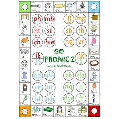 Phonic Blends Game